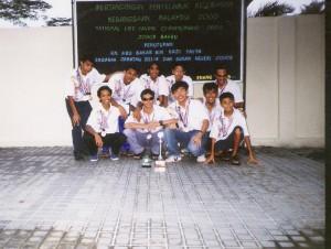 LSSJ Lifesaving team 2000