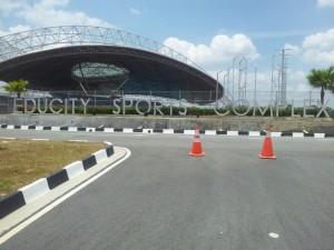 Educity Sports Complex Entrance